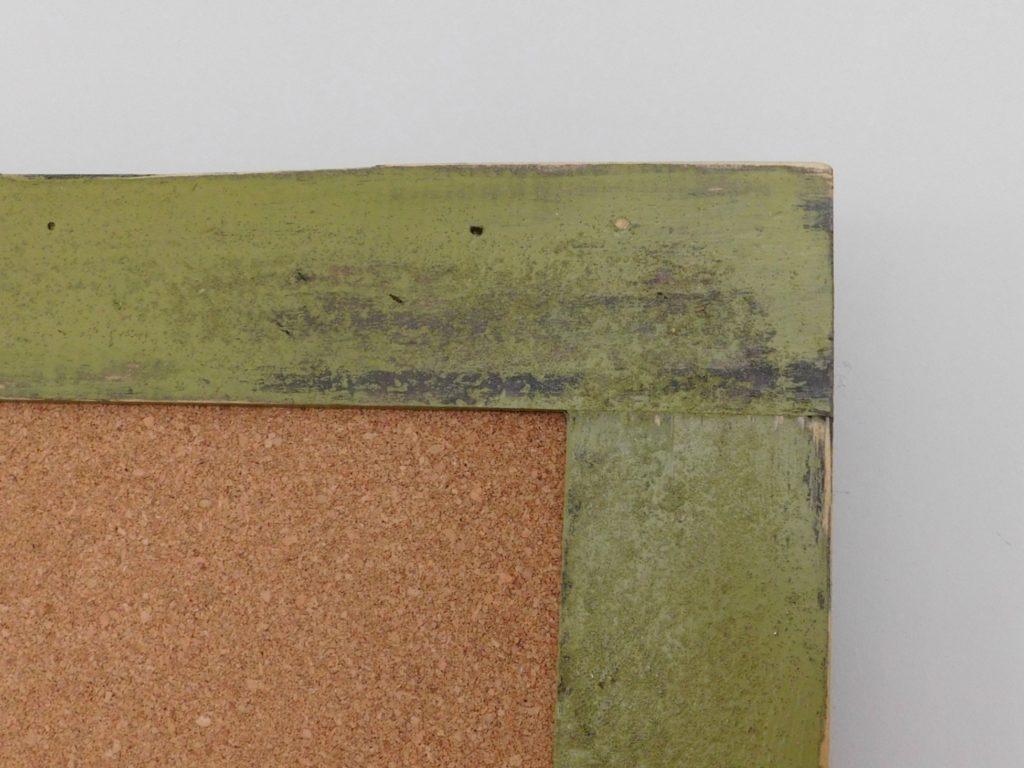 wood framed bulletin board 36x48