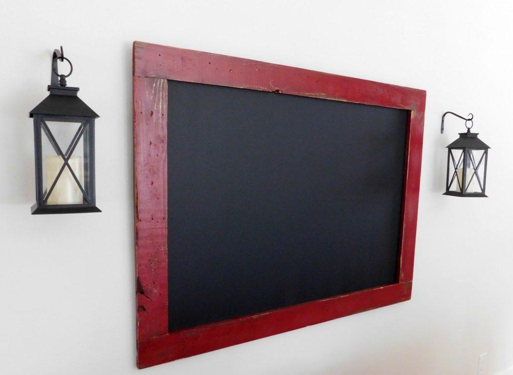 framed chalkboard large 36x48 custom chalkboard