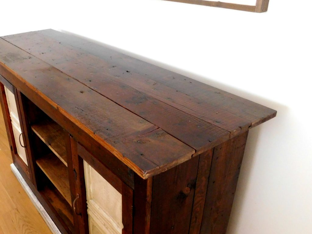 hand crafted furniture tv stand