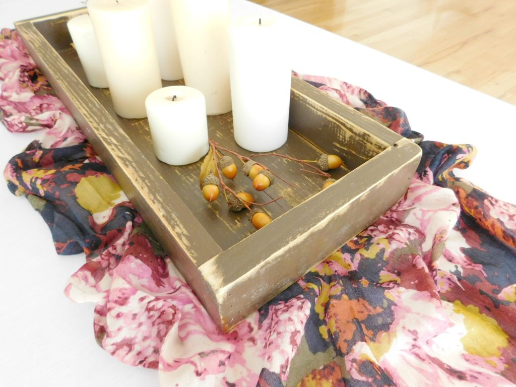 rustic wooden tray brown 4