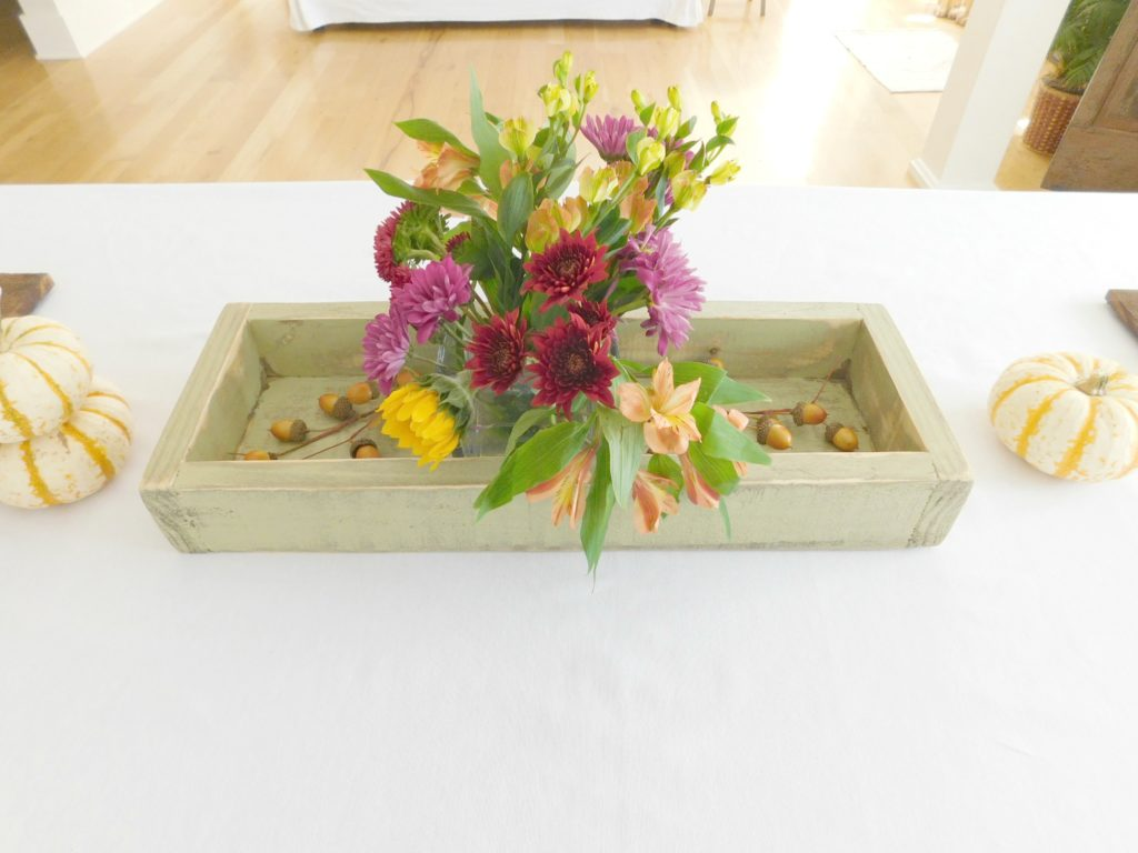 rustic wood tray sage 1