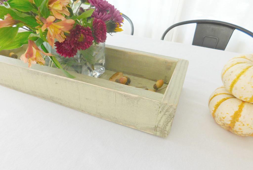 rustic wood tray sage 2